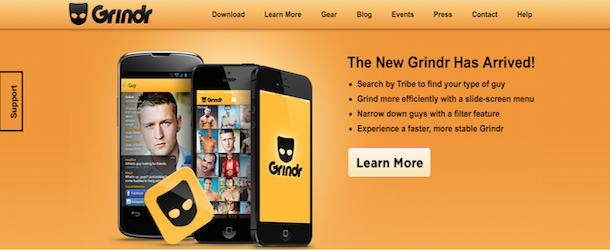 Grindr gay dating service