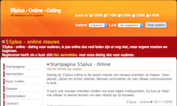 Online dating 55 plus