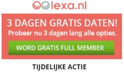 Probeer Lexa.nl nu gratis uit!