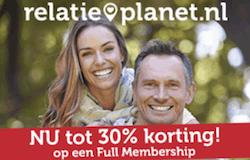 Relatieplanet: Nieuwe leden 30% Korting