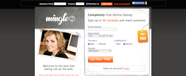 100 free dating sites no credit card needed