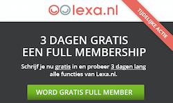Gratis daten bij Lexa.nl